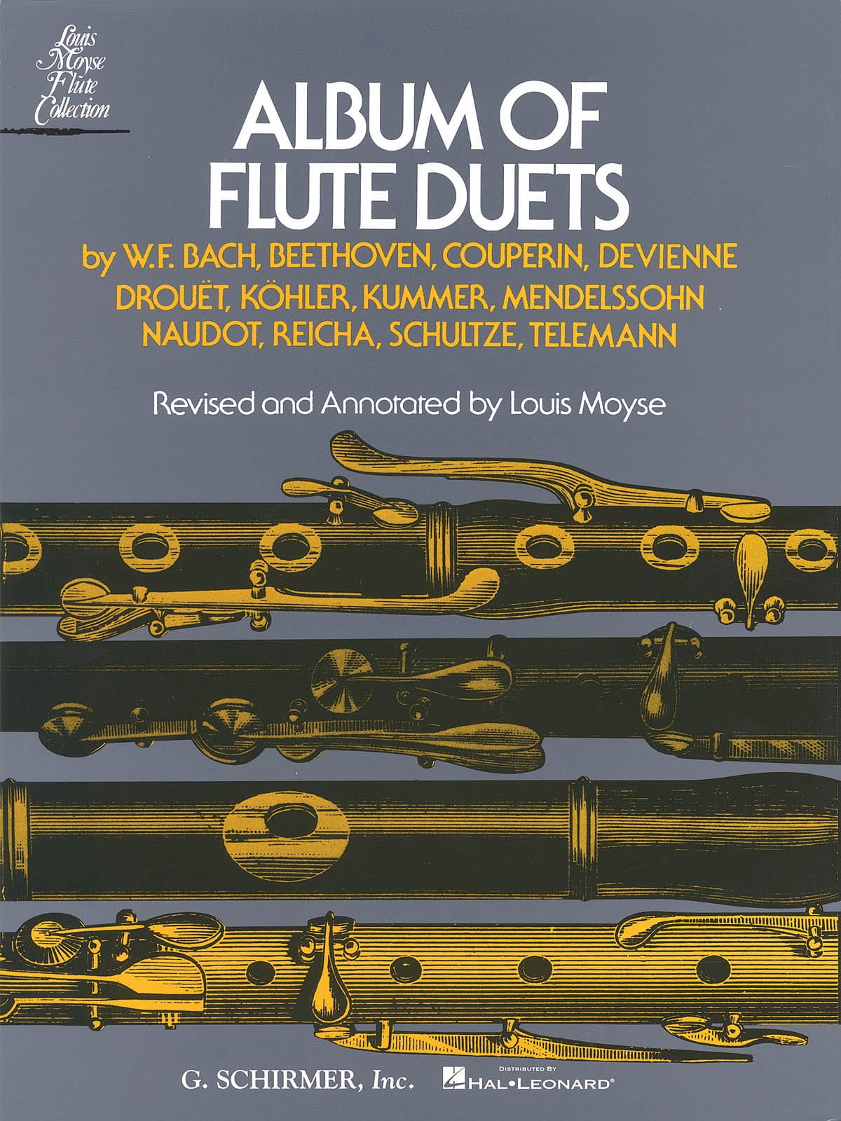 Louis Moyse - Album of Flute Duets - 2 Flutes - Partition - di-arezzo.co.uk