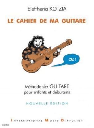 Le Cahier de ma Guitare - Eleftheria Kotzia - laflutedepan.com