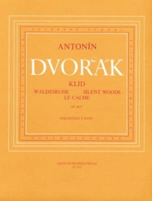DVORAK - The calm op. 68 n ° 5 - Partition - di-arezzo.com
