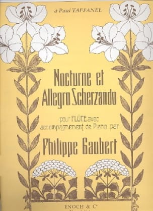 Philippe Gaubert - Nocturne and Allegro Scherzando - Partition - di-arezzo.com