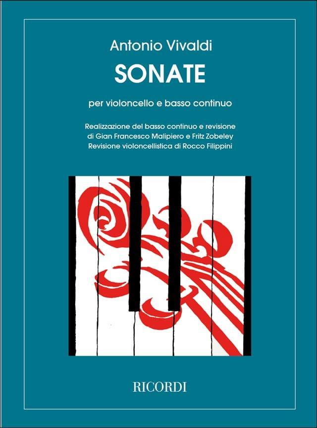 Sonates - VIVALDI - Partition - Violoncelle - laflutedepan.com
