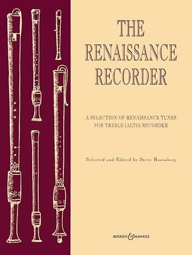 The renaissance recorder Alto - Steve Rosenberg - laflutedepan.com