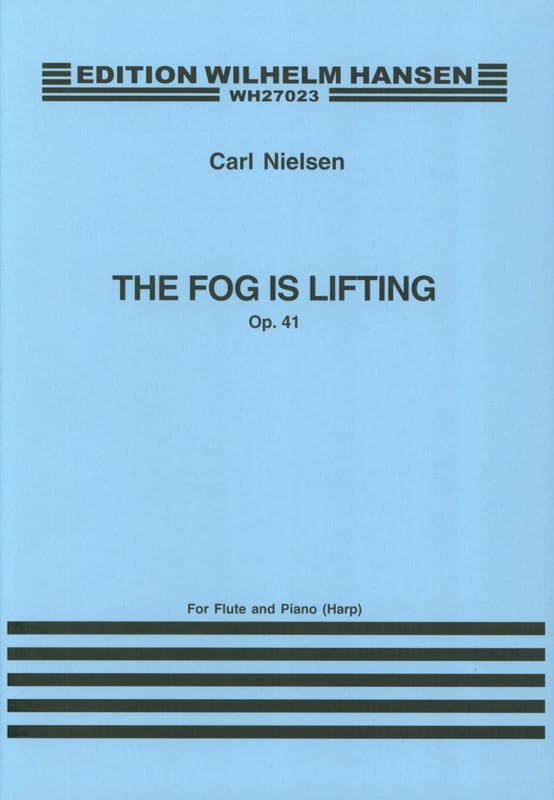 Carl Nielsen - The fog is lifting op. 41 - Flute piano gold harp - Partition - di-arezzo.co.uk