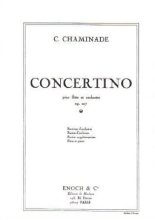 Cécile Chaminade - Concertino Op. 107 - Partition - di-arezzo.co.uk