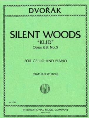 DVORAK - Silent Woods Klid op. 68 n ° 5 - Partition - di-arezzo.co.uk