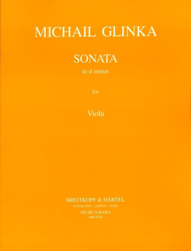 Michail Glinka - Sonata in d minor - Viola - Partition - di-arezzo.com