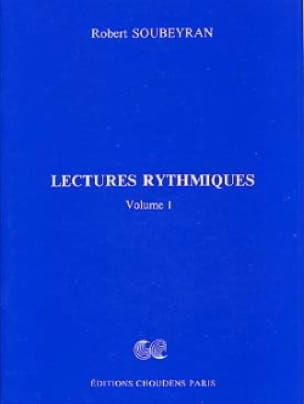 Robert Soubeyran - Volume 1 Rhythmic Readings - Partition - di-arezzo.co.uk