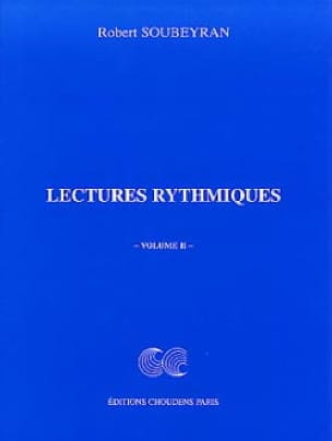 Robert Soubeyran - Rhythmic Readings Volume 2 - Partition - di-arezzo.co.uk