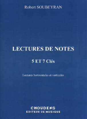 Robert Soubeyran - Reading notes - 5 and 7 Keys - Partition - di-arezzo.co.uk