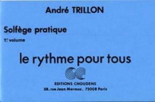 Le rythme pour tous - Volume 1 - André Trillon - laflutedepan.com