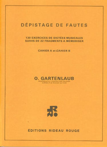 Odette Gartenlaub - Detección de fallas - Partition - di-arezzo.es