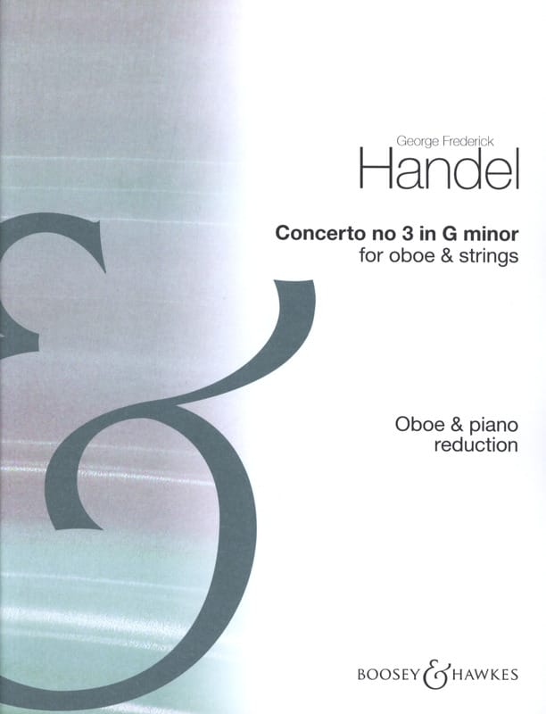 Concerto n° 3 - HAENDEL - Partition - Hautbois - laflutedepan.com