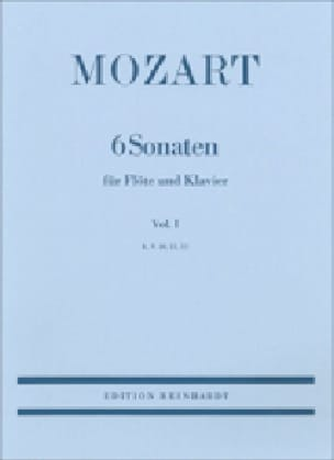 MOZART - 6 Sonaten - Volume 1: KV 10, 11, 12 - Klavier Flute - Partition - di-arezzo.co.uk