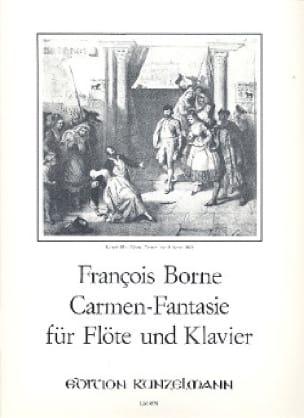 François Borne - Carmen-Fantasy -flute piano - Partition - di-arezzo.com
