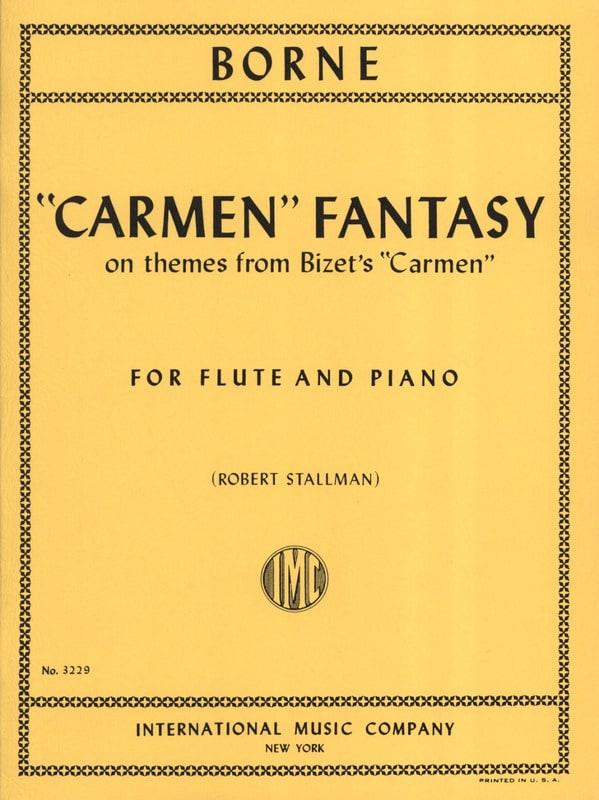 François Borne - Carmen Fantasy - Partition - di-arezzo.com