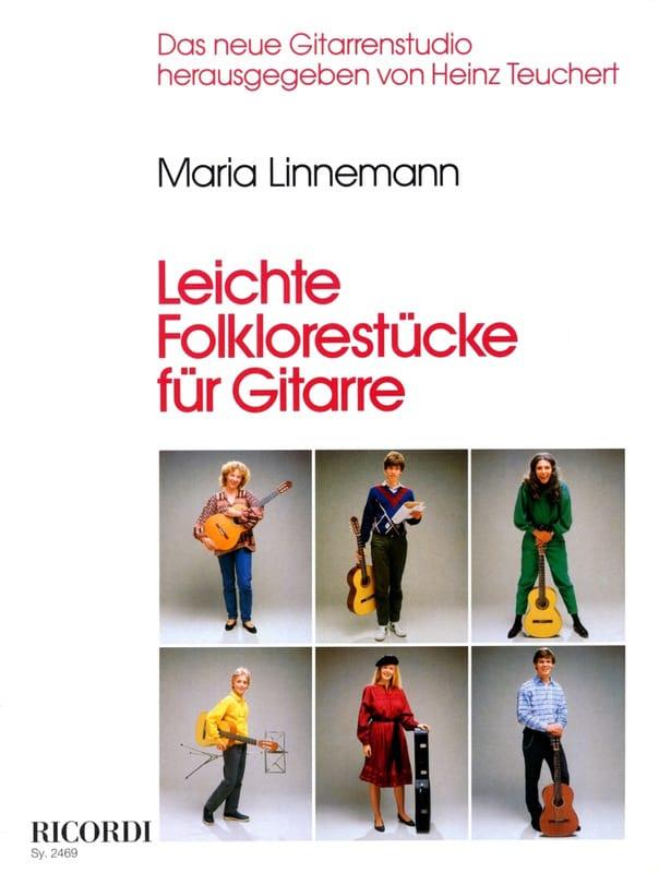 Maria Linnemann - Leichte Folklorestücke für Gitarre - Partition - di-arezzo.co.uk