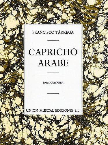 Capricho arabe - TARREGA - Partition - Guitare - laflutedepan.com