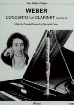 Concerto Clarinette n° 2 op. 74 - laflutedepan.com