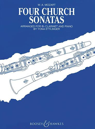 Four church sonatas - MOZART - Partition - laflutedepan.com