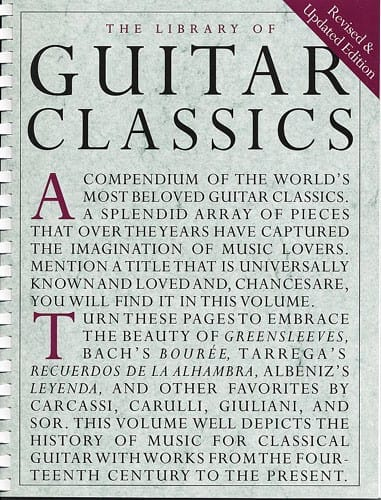 - Library of Guitar classics - Partition - di-arezzo.com