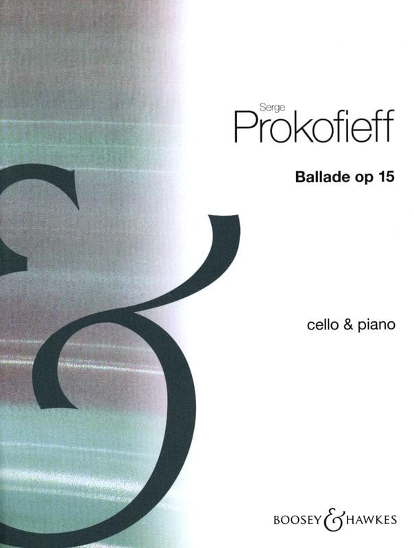 Serge Prokofiev - Balada op. 15 - Partition - di-arezzo.es