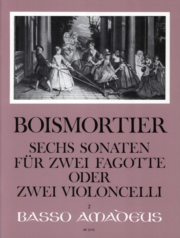 BOISMORTIER - 6 Opus 14 Sonatas - Partition - di-arezzo.com