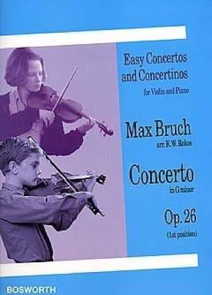 Max Bruch - Concerto Violon op. 26 Sol mineur arr. Rokos - Partition - di-arezzo.ch