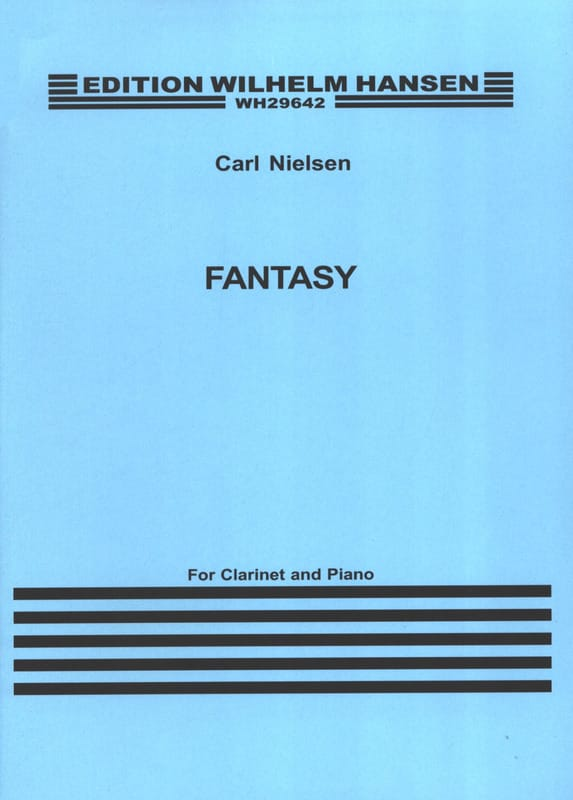 Fantasy - NIELSEN - Partition - Clarinette - laflutedepan.com