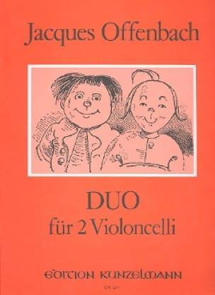 Duo Für 2 Violoncelli Op 54 N° 2 - OFFENBACH - laflutedepan.com