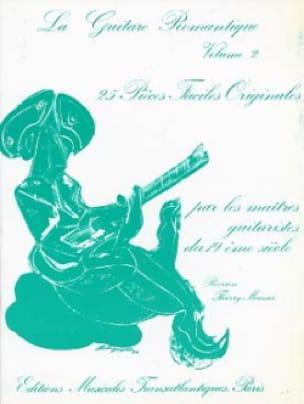 La guitare romantique - Volume 2 - Thierry Meunier - laflutedepan.com