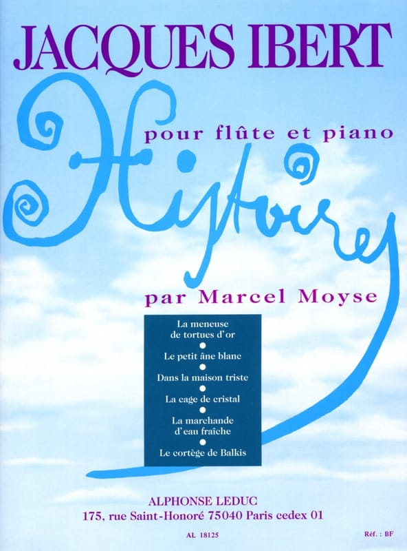 Jacques Ibert - Stories Complete Collection - Piano Flute - Partition - di-arezzo.co.uk