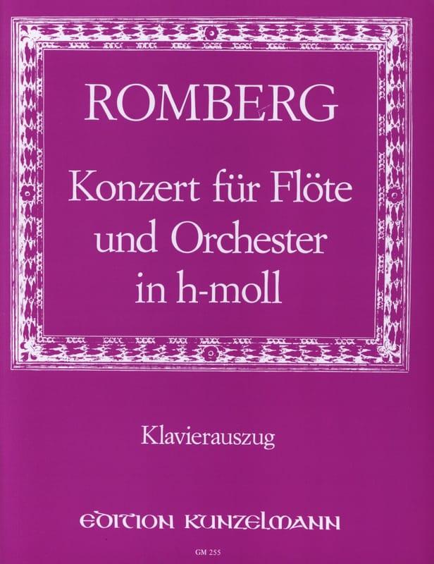 Bernhard Romberg - Concerto in Si Min. Opus 30 - Partition - di-arezzo.com
