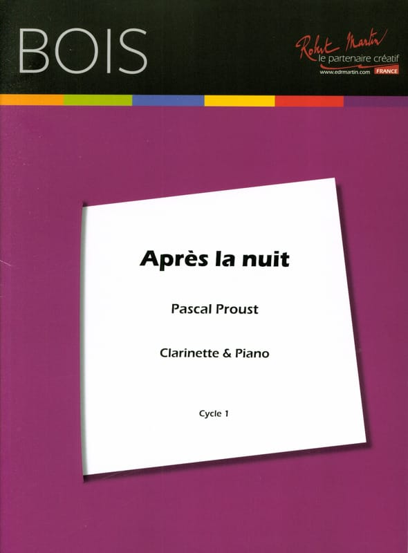 Pascal Proust - After the night - Partition - di-arezzo.com