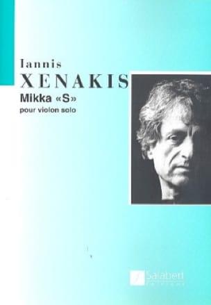 Mikka S - Iannis Xenakis - Partition - Violon - laflutedepan.com
