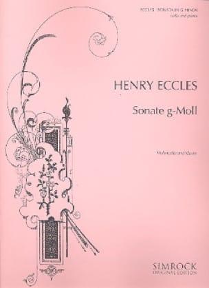 Sonata in G minor - Cello - Henry Eccles - laflutedepan.com