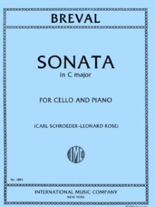 Jean-Baptiste Bréval - Sonata in C major - Partition - di-arezzo.co.uk