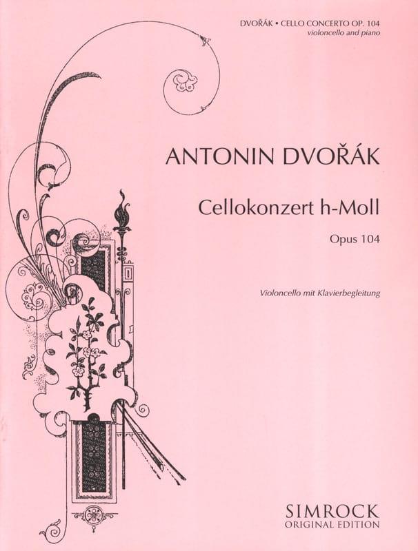 DVORAK - Cello Concerto in B Minor Op. 104 - Partition - di-arezzo.co.uk