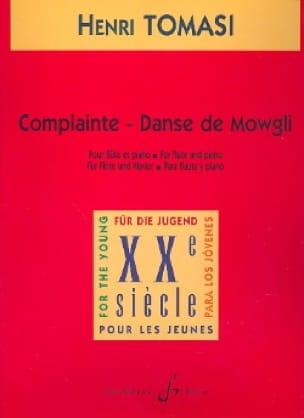 Complainte, Danse de Mowgli - TOMASI - Partition - laflutedepan.com