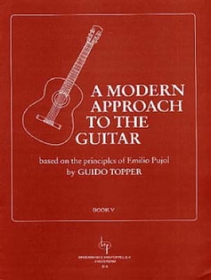 Guido Topper - A modern approach to the guitar - Volume 5 - Partition - di-arezzo.com