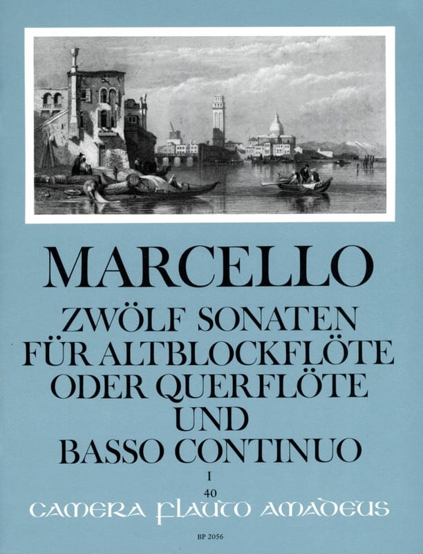 Benedetto Marcello - 12 Sonaten Opus 2 Volume 1 - Partition - di-arezzo.co.uk
