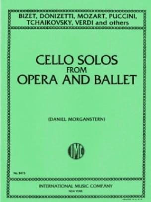 Cello solos from opera and ballet - BIZET - laflutedepan.com