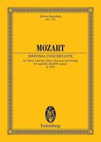 MOZART - Sinfonia Concertante Es-Dur Kv 297b - Partitur - Partition - di-arezzo.com
