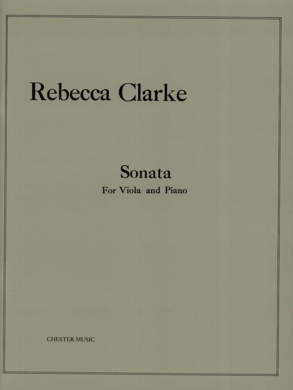 Sonata - Rebecca Clarke - Partition - Alto - laflutedepan.com