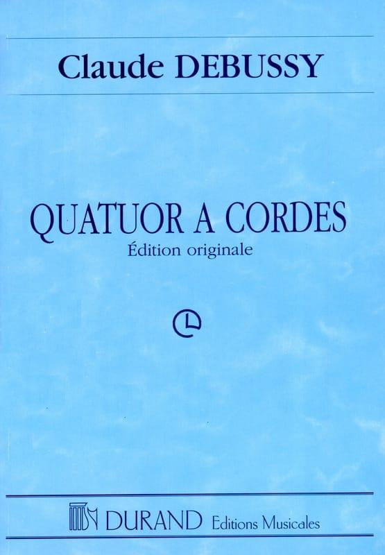 DEBUSSY - Quatuor à Cordes - Partition - di-arezzo.fr