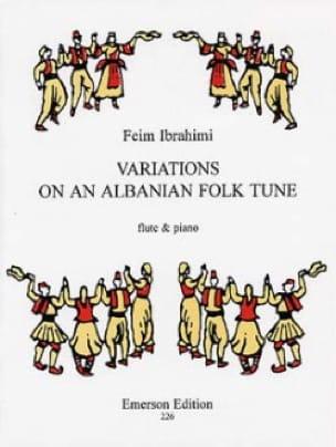 Variations On An Albanian Folk Tune - Feim Ibrahimi - laflutedepan.com