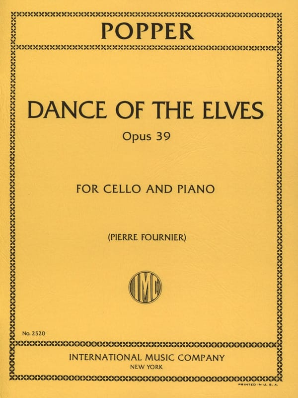 David Popper - Dance of the Elves op. 39 - Partition - di-arezzo.co.uk