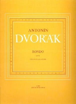 DVORAK - Rondo op. 94 - Partition - di-arezzo.co.uk