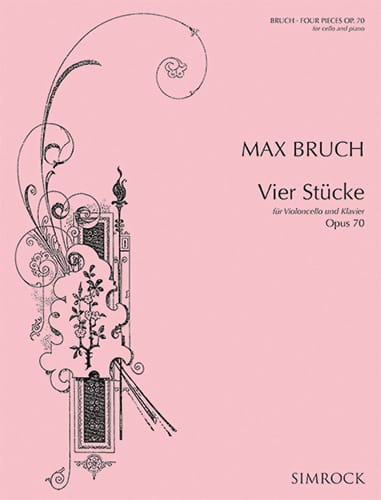 Max Bruch - 4 Stücke op. 70 - Partition - di-arezzo.co.uk