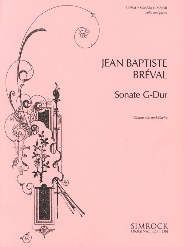 Jean-Baptiste Bréval - G-Dur Sonata - Partition - di-arezzo.com