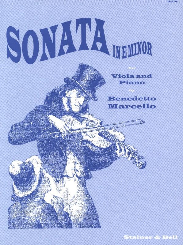 Benedetto Marcello - Sonata in E Minor - Alto - Partition - di-arezzo.co.uk